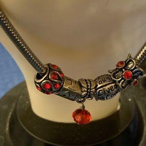 Jewelry - Charm bracelets live love laugh.